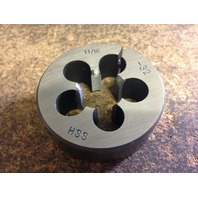 "11/16""-32 X 2"" HIGH SPEED STEEL ROUND ADJUSTABLE DIE"