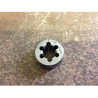 "M12 X .75 X 1"" HIGH SPEED STEEL ROUND ADJUSTABLE DIE"