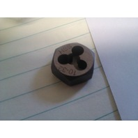 10-32 HIGH SPEED STEEL HEXAGONAL RE-THREADING DIE