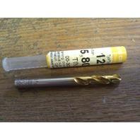 """.2283"""" 5.8mm HSCO TiN STUB DRILL"""