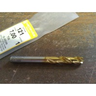 ".2756"" 7mm COBALT TiN COATED SCREW MACHINE LENGTH DRILL"