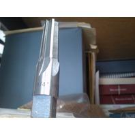 1/4 NPT HIGH SPEED STEEL STRAIGHT FLUTE TAPER PIPE REAMER