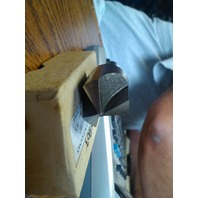"3/4"" 100 DEGREE HIGH SPEED STEEL 3 FLUTE COUNTERSINK 3/8"" SHANK"