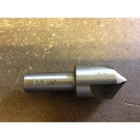 "7/8"" 100 DEGREE HIGH SPEED STEEL 3 FLUTE COUNTERSINK 1/2"" SHANK"