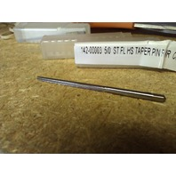 #5/0 HIGH SPEED STEEL STRAIGHT FLUTE TAPER PIN REAMER
