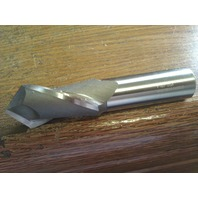 """1"""" 2 FLUTE 90 DEGREE POINT ANGLE COBALT DRILL MILL"""