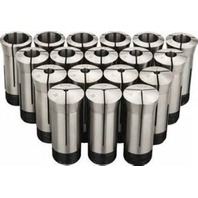 "18 Piece 5C Round Collet Set 1/16"" - 1 1/8"" x 16ths"