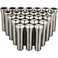 "R8 25 Piece Round Collet Set 1/8""-7/8"" by 32ths"
