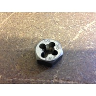 "1/4""-36 CARBON STEEL HEXAGONAL RE-THREADING DIE"