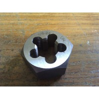 "5/8""-24 CARBON STEEL HEXAGONAL RE-THREADING DIE"