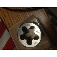 "11/16""-20 CARBON STEEL HEXAGONAL RE-THREADING DIE"