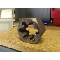 "13/16""-16 CARBON STEEL HEXAGONAL RE-THREADING DIE"