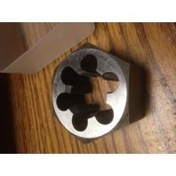 "15/16""-20 CARBON STEEL HEXAGONAL RE-THREADING DIE"