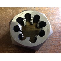 "1 3/8""-8 CARBON STEEL HEXAGONAL RE-THREADING DIE"