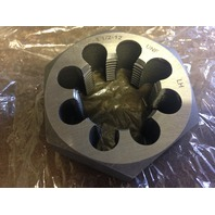 "1 1/2""-12 LEFT HAND CARBON STEEL HEXAGONAL RE-THREADING DIE"