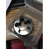 M14 X 1.00 CARBON STEEL HEX RE-THREADING DIE