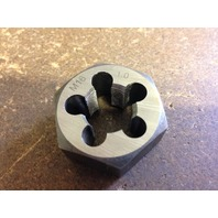 M16 X .75 CARBON STEEL HEXAGONAL RE-THREADING DIE