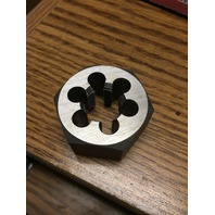M17 X 1.00 CARBON STEEL HEXAGONAL RE-THREADING DIE