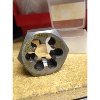 M18 X 2.50 CARBON STEEL HEXAGONAL RE-THREADING DIE