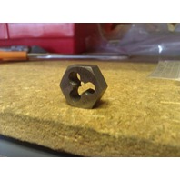 M5 X .80 LEFT HANDED CARBON STEEL HEXAGONAL DIE