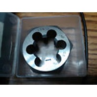 M18 X 2.50 LEFT HAND CARBON STEEL HEXAGONAL RE-THREADING DIE