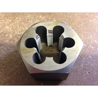 M24 X 1.50 LEFT HAND CARBON STEEL HEXAGONAL RE-THREADING DIE