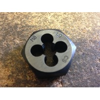"M8 X 1.00 CARBON STEEL HEX RE-THREADING DIE 1"" A/F"