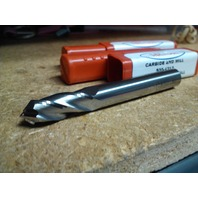 """5/16"""" 4 FLUTE 90 DEGREE POINT ANGLE CARBIDE DRILL MILL"""