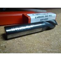 """1/2"""" 4 FL 90 DEG PT ANGLE TIALN CTD CARBIDE DRILL MILL"""