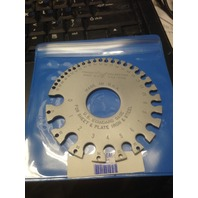 U.S. Standard Wire Gage for Sheet, Plate-Iron and Steel