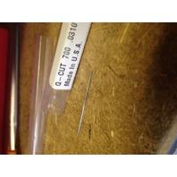 ".0310"" #68 HIGH SPEED STEEL CHUCKING REAMER"