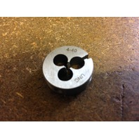 "4-40 X 13/16"" CARBON STEEL ROUND ADJUSTABLE DIE"