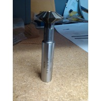 """1"""" 60 DEGREE INCLUDED ANGLE HIGH SPEED STEEL DOUBLE ANGLE CUTTER"""