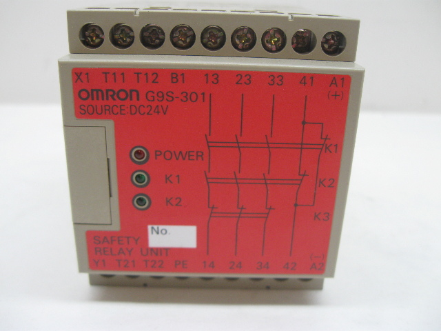 Omron Safety Relay Contact 24VDC NEW G9S-301