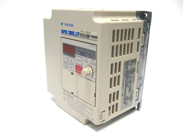 Yaskawa CIMR-J7AM40P2 AC Frequency Drive GPD 305/J7 400 Volt
