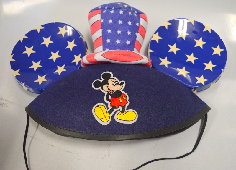 57d4b3be96a42 ... sale disney parks mickey mouse ears hat stars and stripes. b102f ac38e