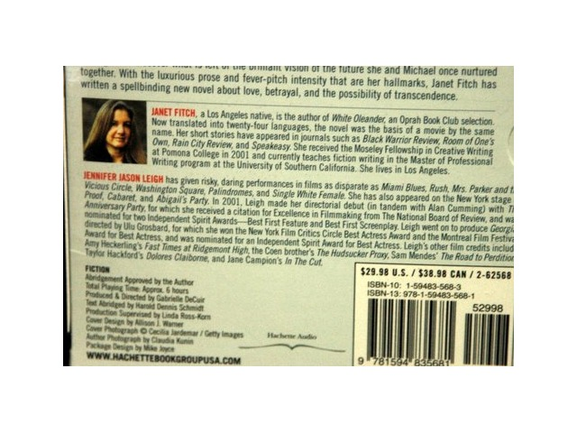 Paint it Black - Audiobook CD Edition by Janet Fitch - New
