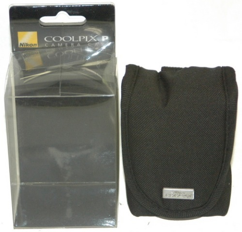 Nikon Coolpix style P Digital Camera case fabric
