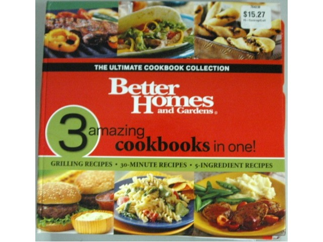 3 Amazing Cookbooks in 1 - Better Homes and Gardens