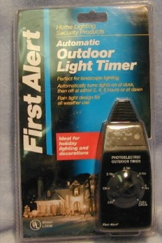 First Alert Automatic Light Timer
