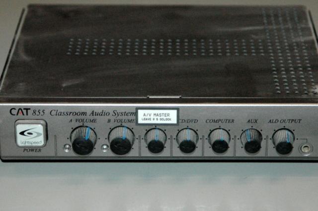 Lightspeed CAT 855 Classroom Audio System