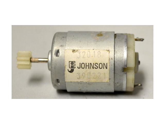 Johnson Hi Speed Toy Motor w/Switch Attachment - 320.18 and 3902.21