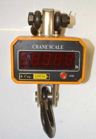 Vestil crane scale model SC-2 , 2000 lb capacity