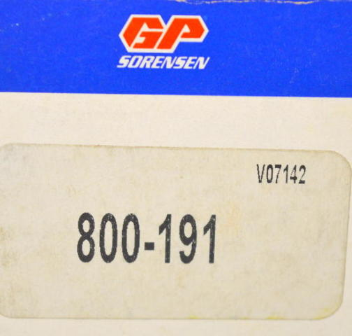GP Sorensen #800-191 Fuel Injection Pressure Regulator-Mazda 90-93