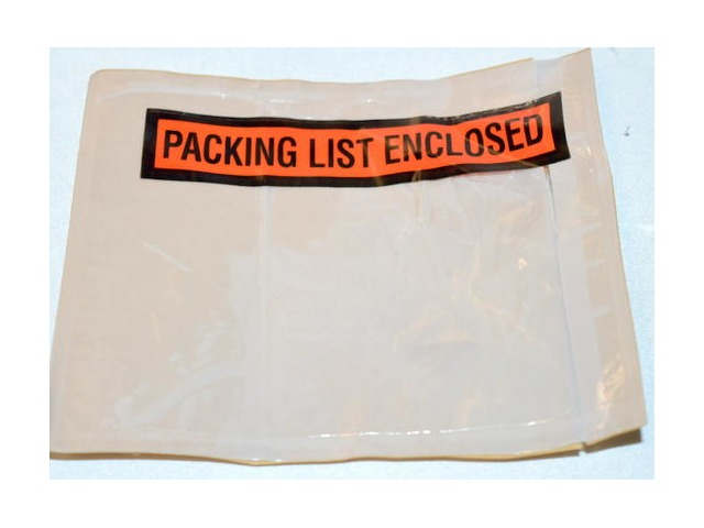 "PR-1 Packing List Enclosures, 4 1/2"" x 5 1/2"" Window type - 1000 pcs."