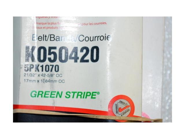 Gates K040305 Multi V-Groove Belt