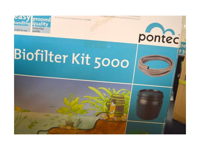 Pontec Stream / Pond Kit. #55988, Marathon 1000 pond pump w/energy saving motor.