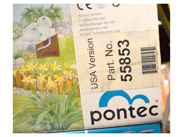 Pontec Watercourse Kit #55853, w/Marathon 2000 Fountain pump.