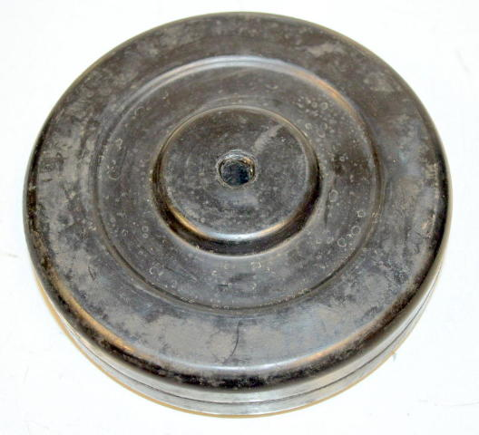 "5"" x 1.25"" Soft Rubber Wheel-3/8"" hole. #6188 - 1 pc."