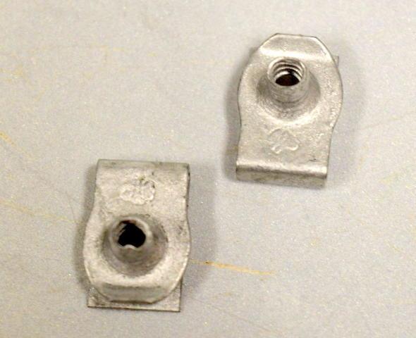 GM#11515842 - OEM - Quarter Panel- Wheel Fender Liner Nut - 2 pcs.